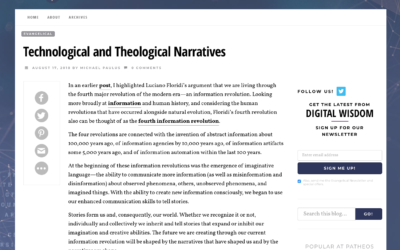Technological and Theological Narratives