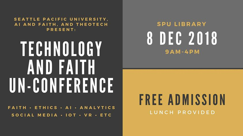 Technology and Faith Un-conference Graphic