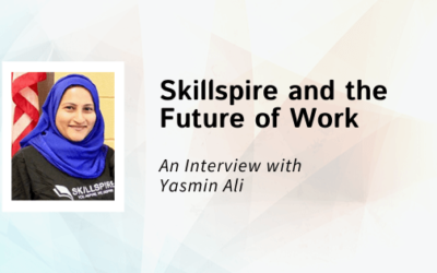 Yasmin Ali Talks About Skillspire and the Future of Work