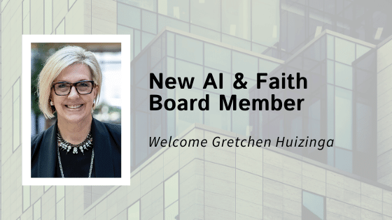 Microsoft Research Podcast Producer and Host Gretchen Huizinga joins the AI and Faith Board