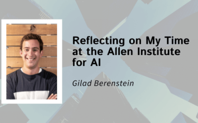 Reflecting on My Time at the Allen Institute for AI