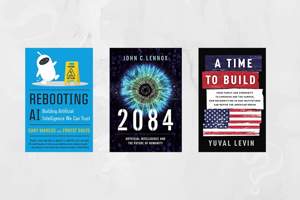 Three Books for Three Questions