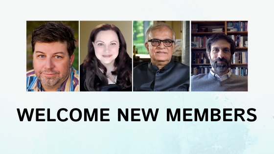 Welcome to Four New Founding Members, bringing our Expert Community to almost 80